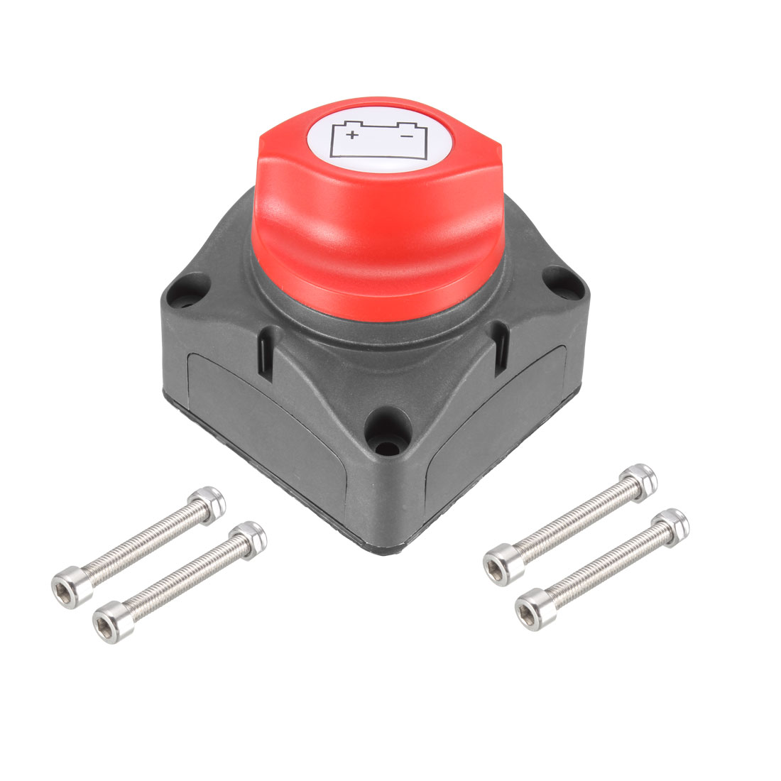 Battery Switch 12-24V On/Off Power Cut Master Disconnect Isolator with Side Pad
