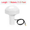 GPS Antenna Compatible with Beidou 30dB SMA Male External Receiver 1 Meter Wire
