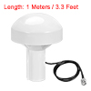 GPS Antenna Compatible with Beidou 30dB BNC Male External Receiver 1 Meter Wire