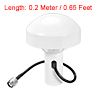 GPS Antenna Compatible with Beidou 30dB TNC Male External Receiver 0.2M Wire