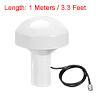 GPS Antenna Compatible with Beidou 30dB TNC Male External Receiver 1 Meter Wire