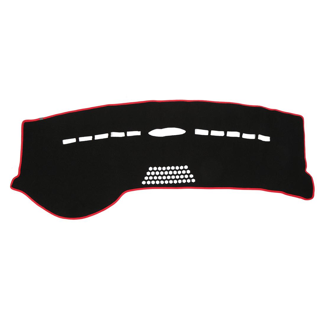 Car Black Dash Sun Cover Dashboard Mat Carpet for 06-15 Mercedes-Benz R Class