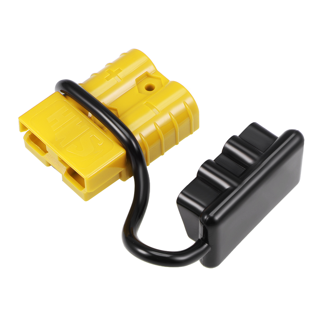 6 Gauge Battery Quick Connect Disconnect Kit 50A Wire Connector, Yellow