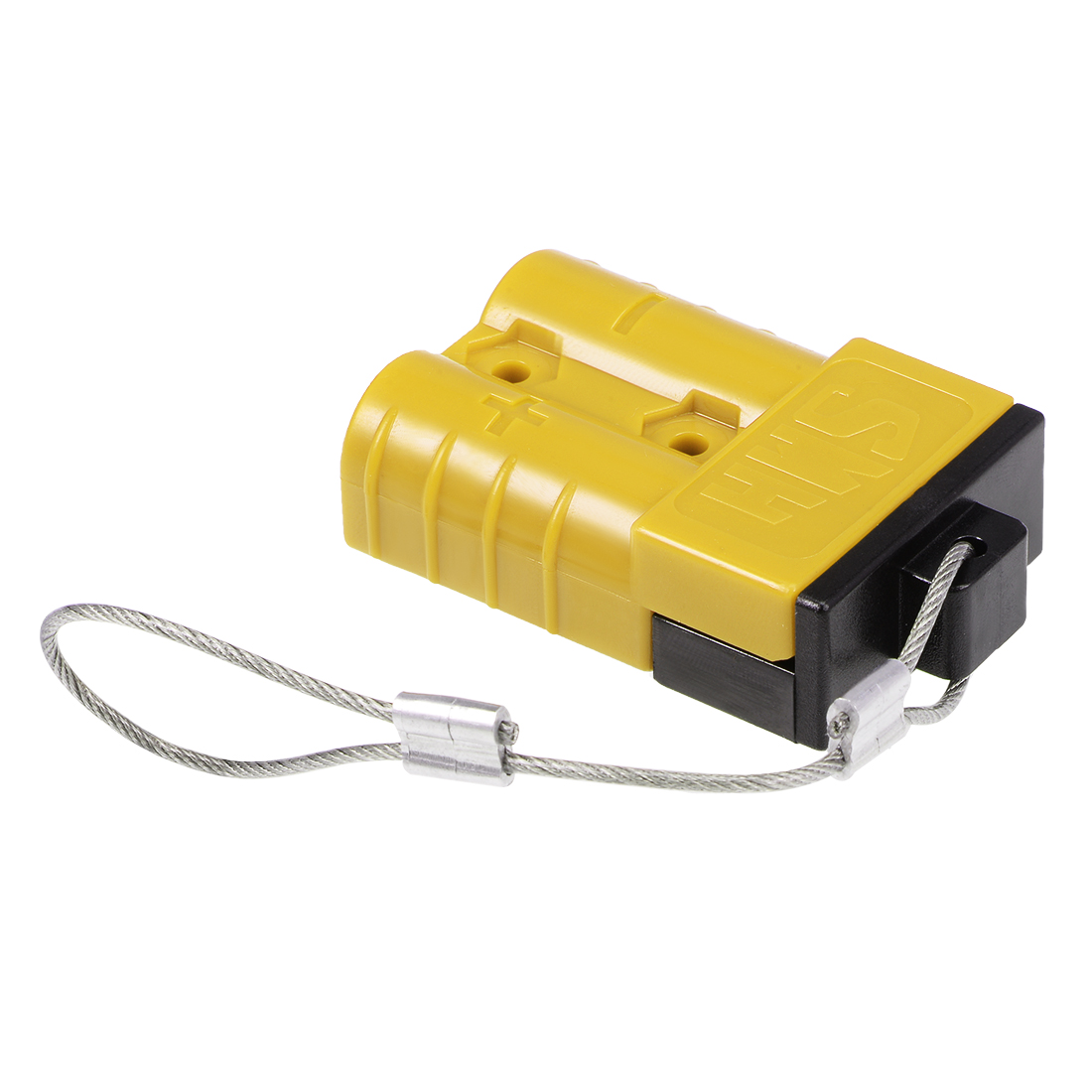 6 Gauge Battery Quick Connect Disconnect Kit 50A Wire Harness Connector, Yellow