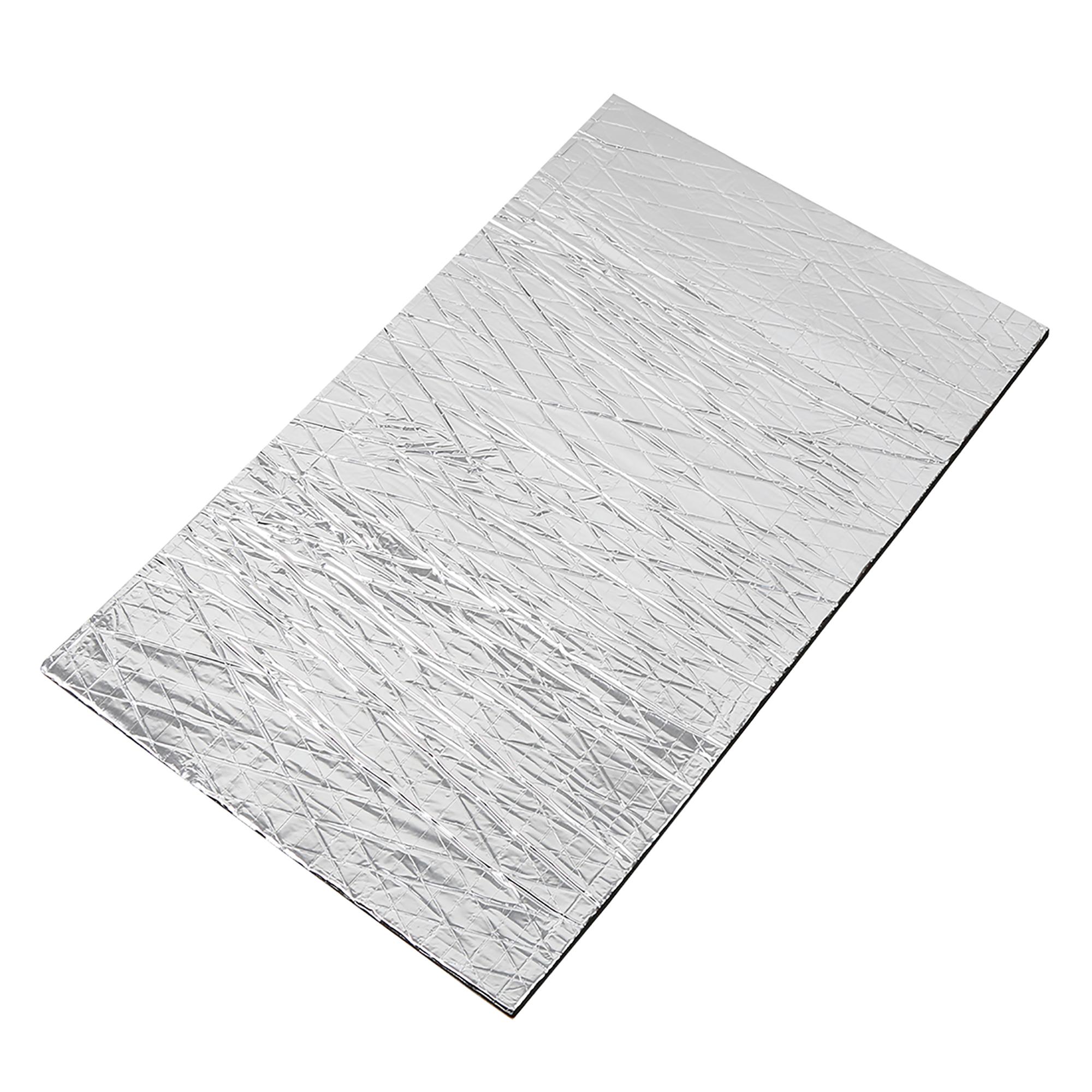 1.6sqft Sound Deadener Heat Insulation Mat Hood Floor Door 50 x 30 x 0.5cm