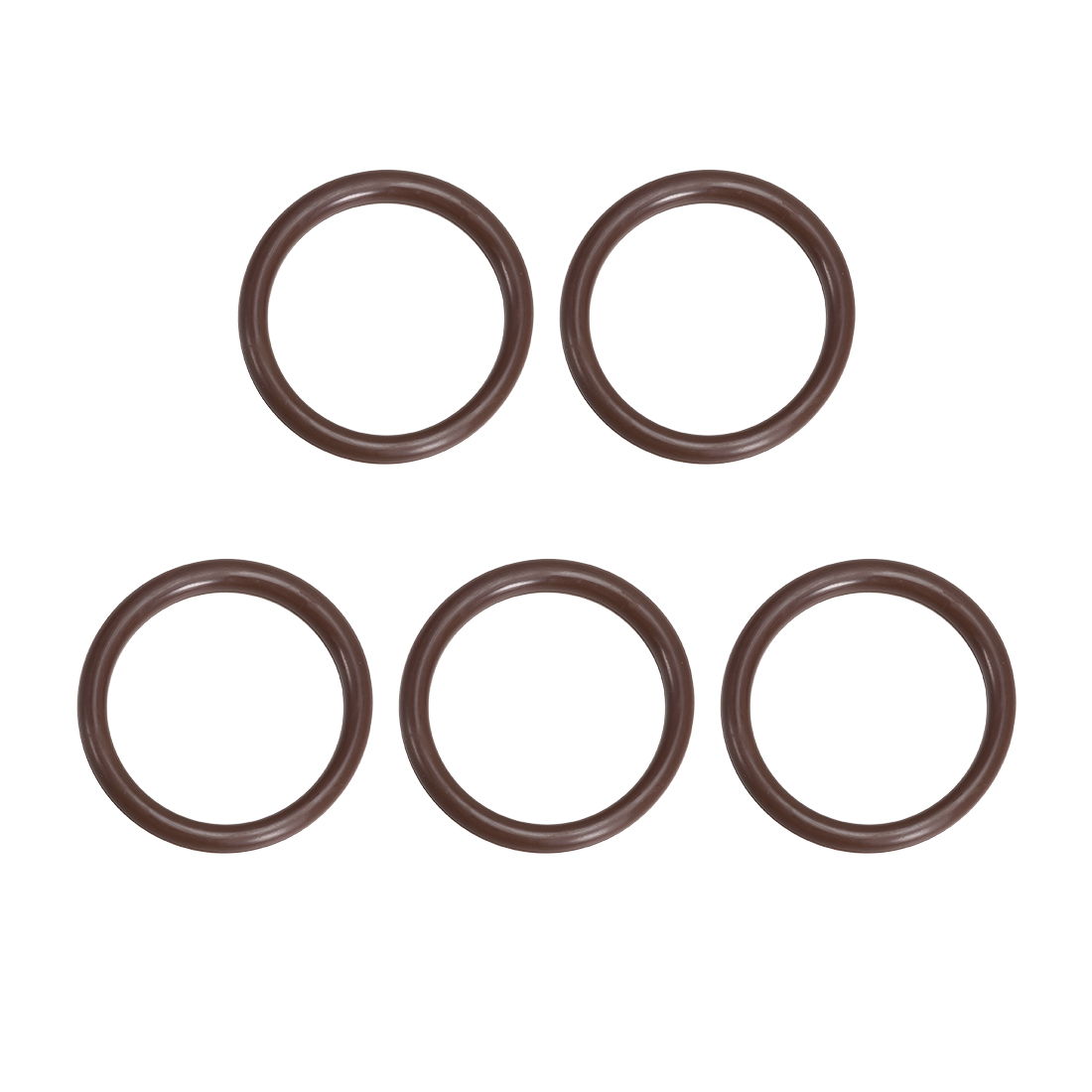 5 Pcs Fluororubber Gasket Sanitary Clamp Washer 52mm x 41mm O-Ring