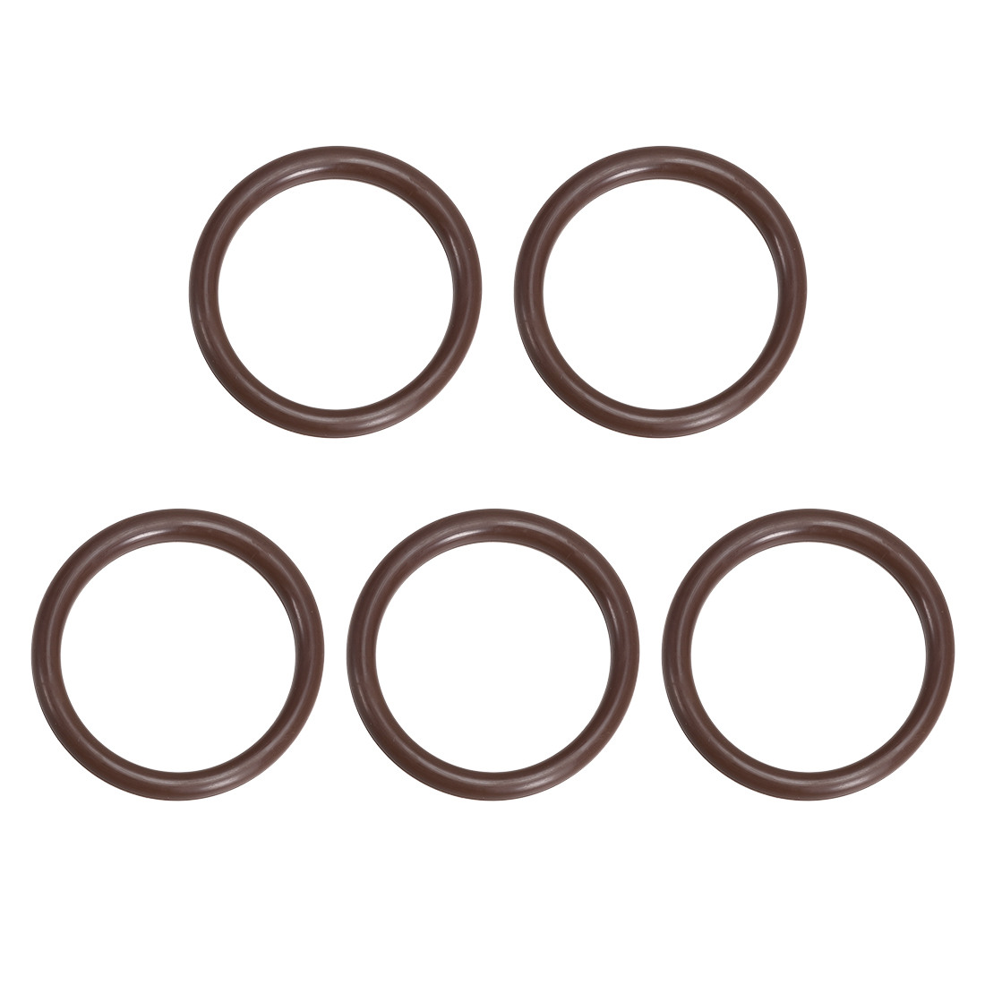 5 Pcs Fluororubber Gasket Sanitary Clamp Washer 63mm x 53mm O-Ring