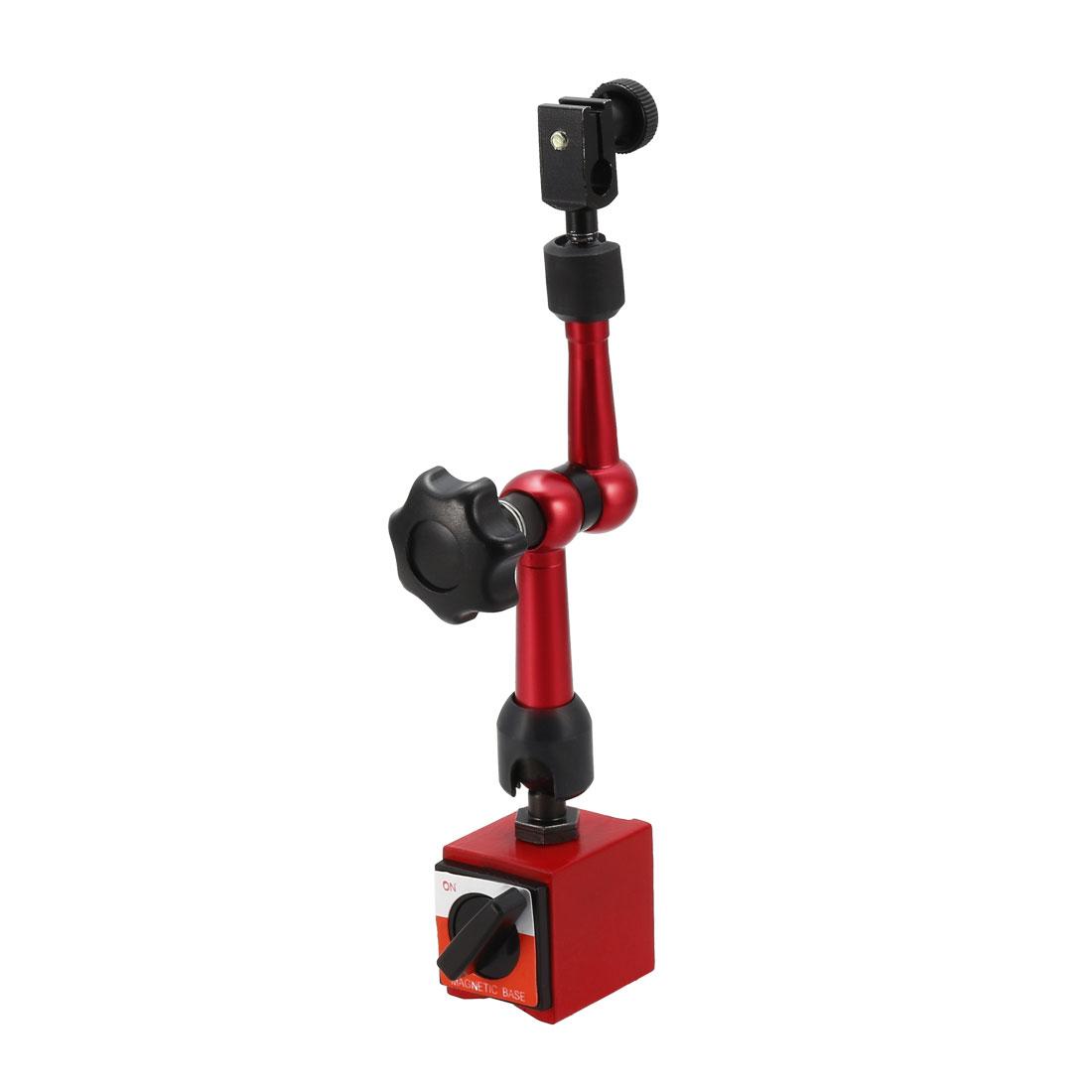 Dial Gage Holder Magnetic Base Adjustable Metal Test Indicator Holder 8 inch