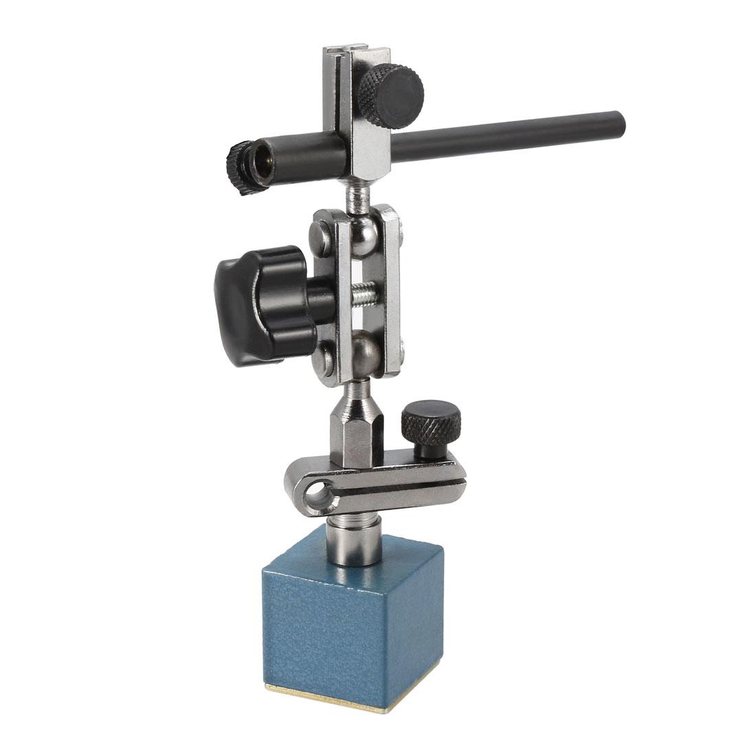 Magnetic Holder Base Stand Adjustable 132mm for Level Dial Test Gage Indicator