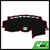 Car Black Dash Sunshield Cover Dashboard Mat Carpet Pad for 2007 Lexus RX350