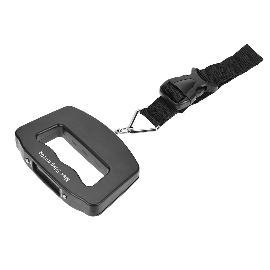Digital Luggage Scale 50kg/10g Portable Handle Hanging Balance Weight Backlit