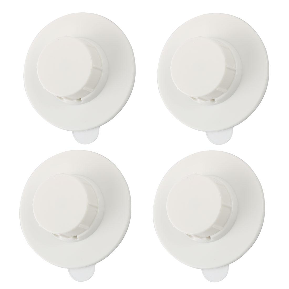 Meike Household Authorized Self Stick Wall Hook Bathroom Hanger 4pcs
