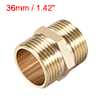 Brass Pipe Fitting Connector Hex Nipple Coupler 1 x 1 G Male Hose Fittings