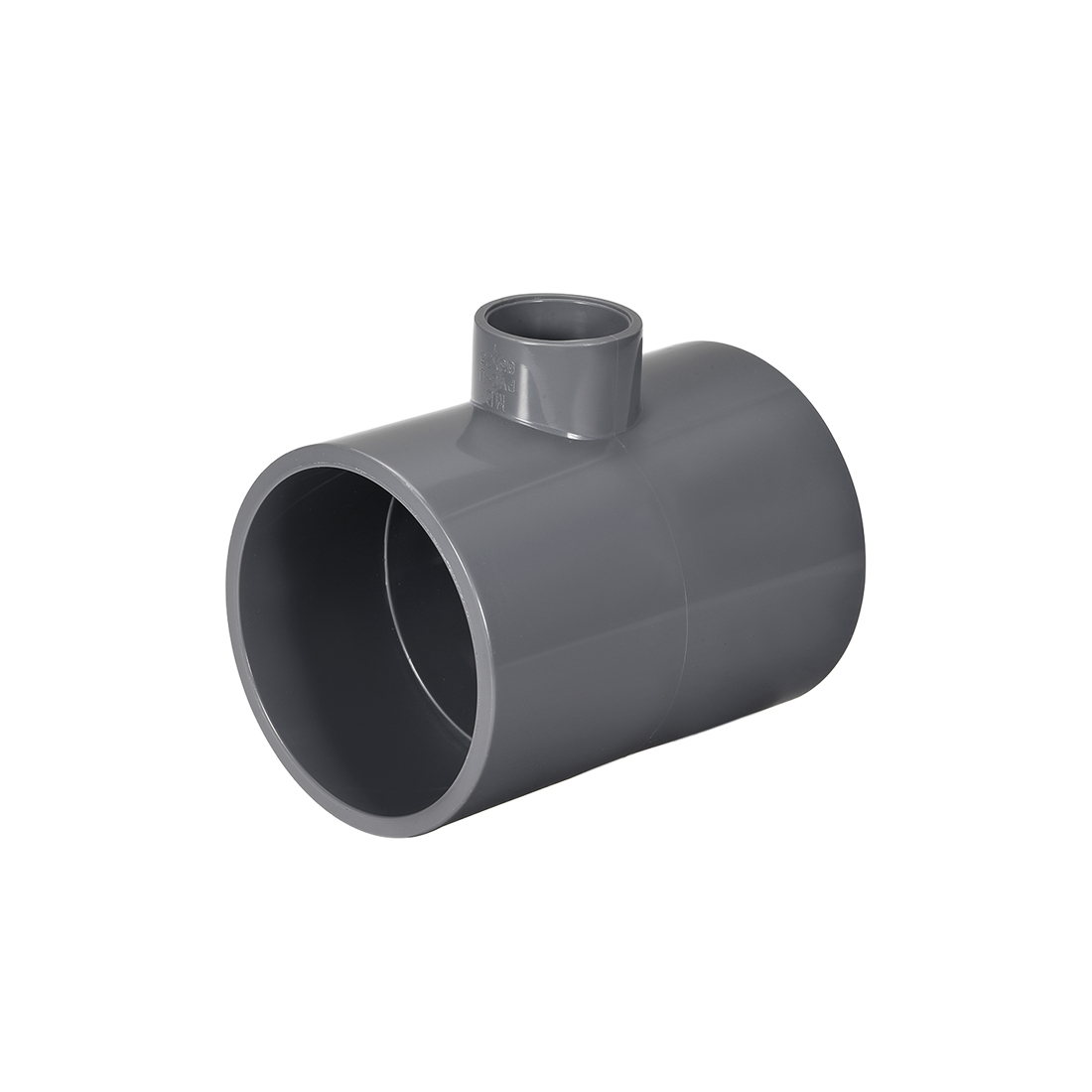 PVC Pipe Fitting Tee 401-Series Gray 1-inch x 2-1/2inch Socket