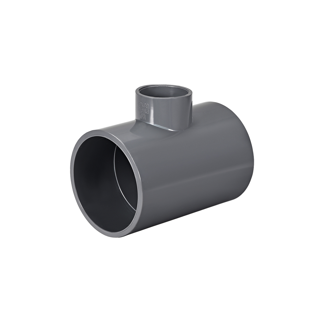 PVC Pipe Fitting Tee 401-Series Gray 1-1/4inch x 2-1/2inch Socket
