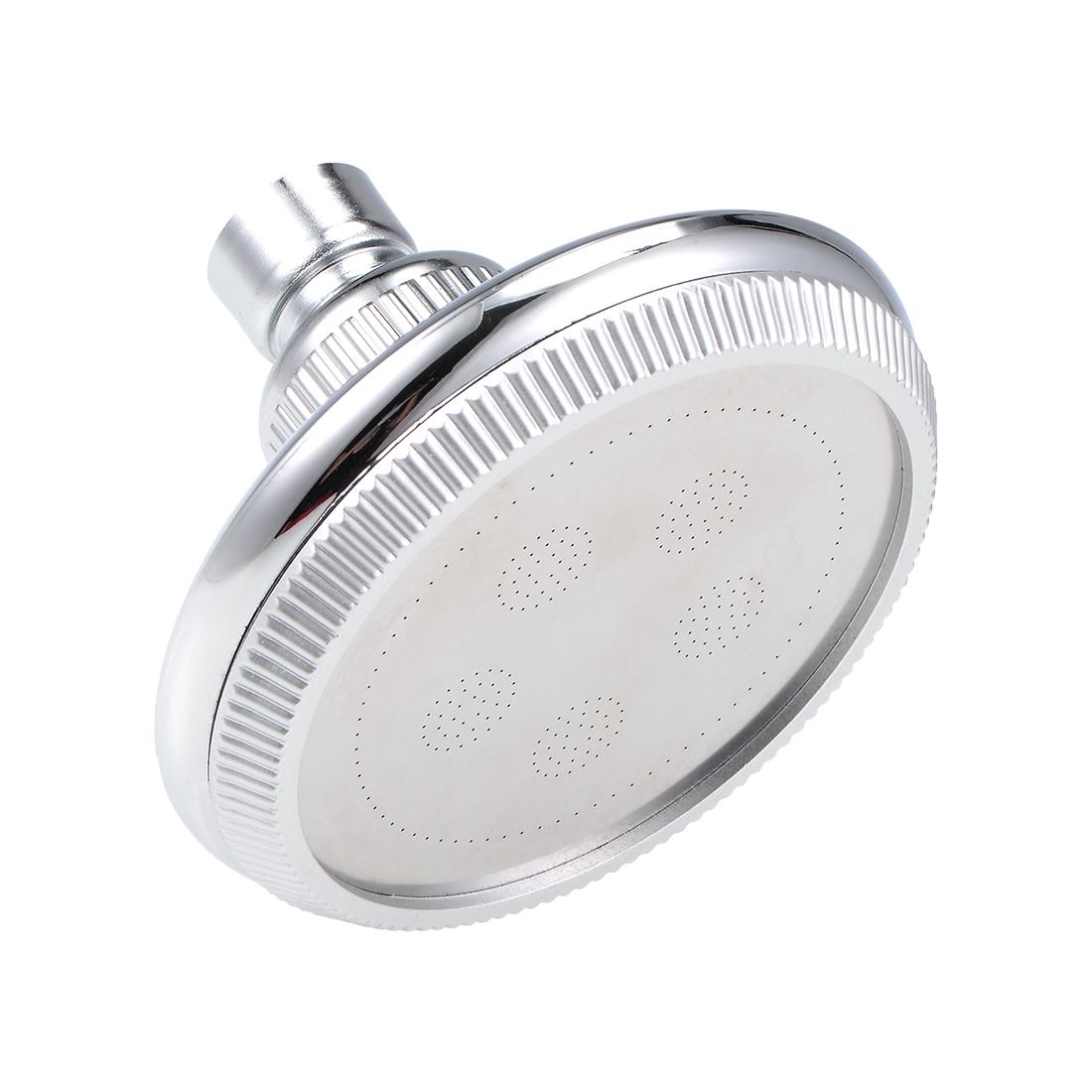 High Pressure Shower Head -3.8 Inch Anti-leak Fixed Chrome Showerhead Adjustable