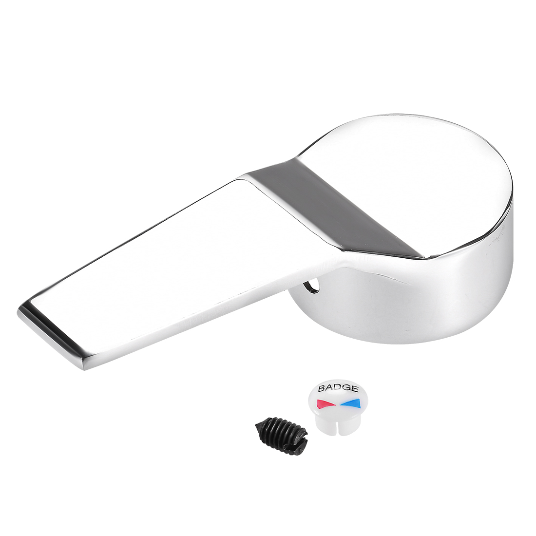 Faucet Lever Handle 40mm Cartridge Universal Replacement Metal Lever Handle Kit