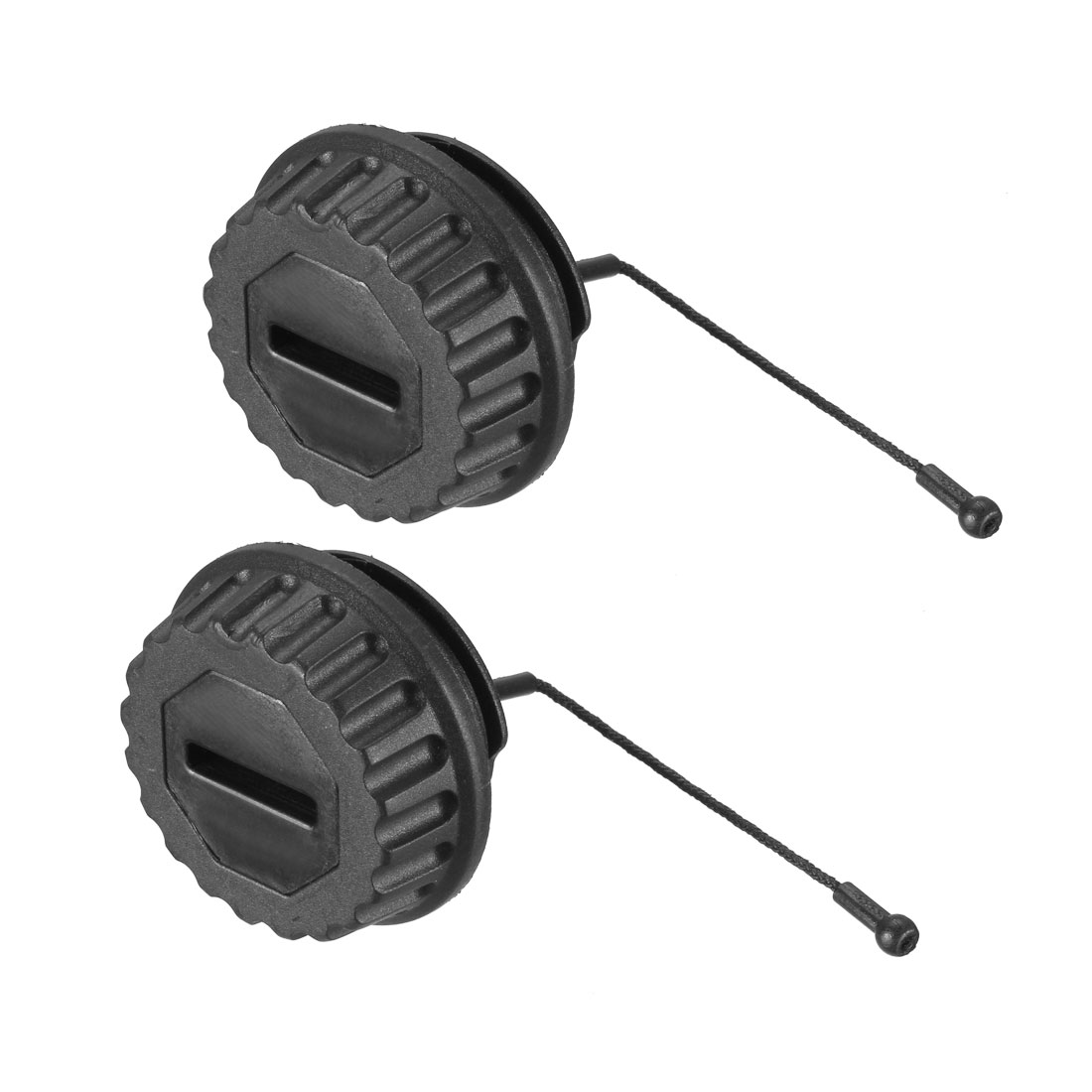 Gas Fuel Cap for STIHL MS290 MS310 MS390 MS640 MS650 MS660 Chainsaw 2pcs