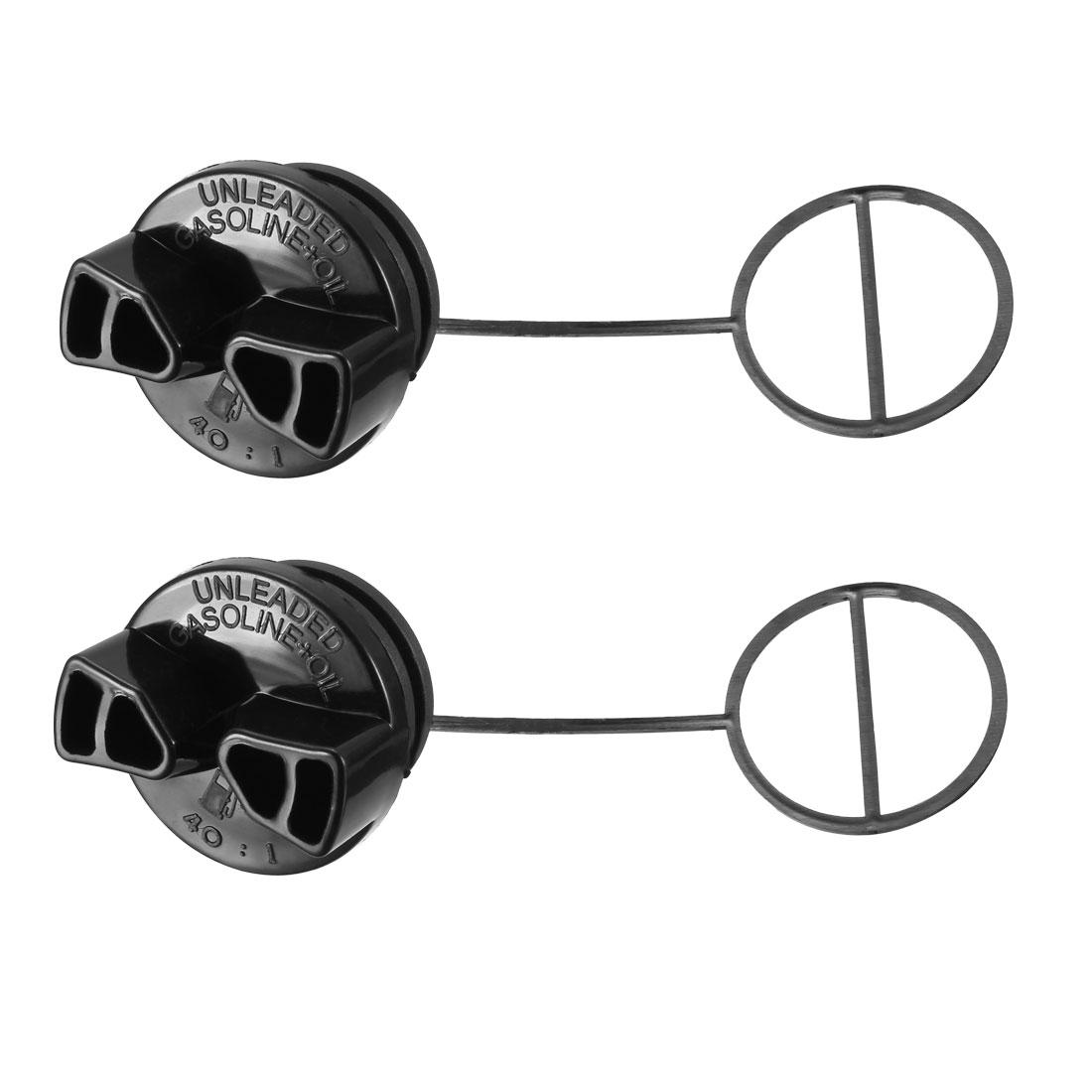 952044640 Oil Gas Fuel Cap Fit for Poulan Predator Chainsaw etc 2pcs