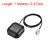 GPS Active Antenna TNC Male Plug 34dB Magnetic Mount 1 Meters Wire S