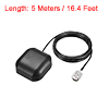 GPS Active Antenna TNC Male Plug 34dB Magnetic Mount 5 Meters Wire S