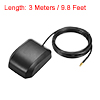 GPS Active Antenna MCX Male Plug 34dB Magnetic Mount 3 Meters Wire L