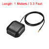 GPS Active Antenna MCX Male Plug 34dB Magnetic Mount 1 Meters Wire S