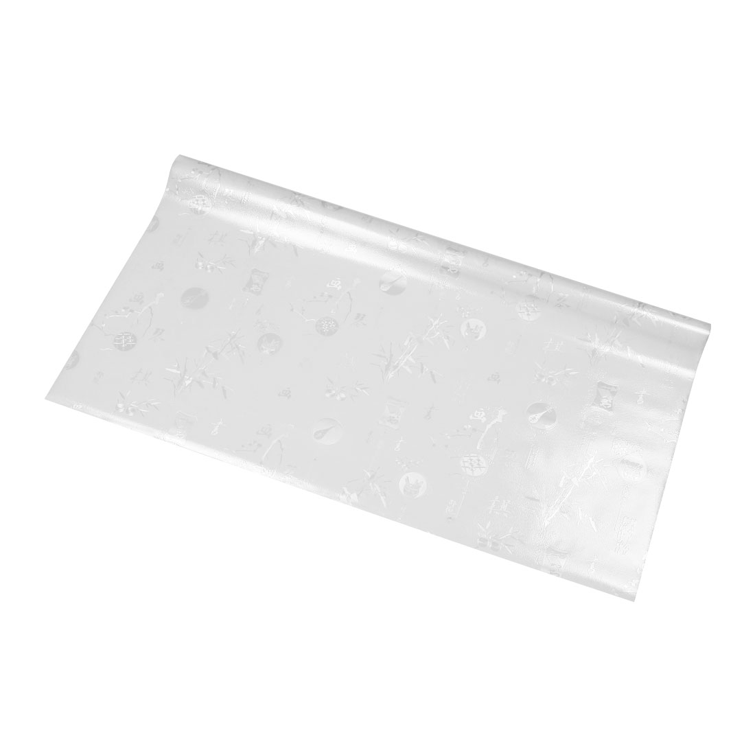 "Bathroom Home 35.4"" x 78.7"" Anti UV Window Film Sticker Chinese Pattern"