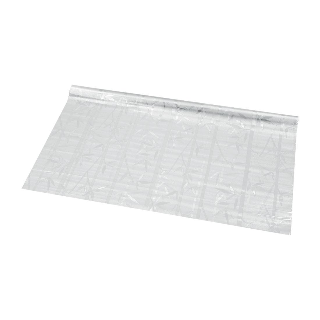 "Bathroom Home PVC 35.4"" x 78.7"" Anti UV Window Film Sticker Bamboo Pattern"