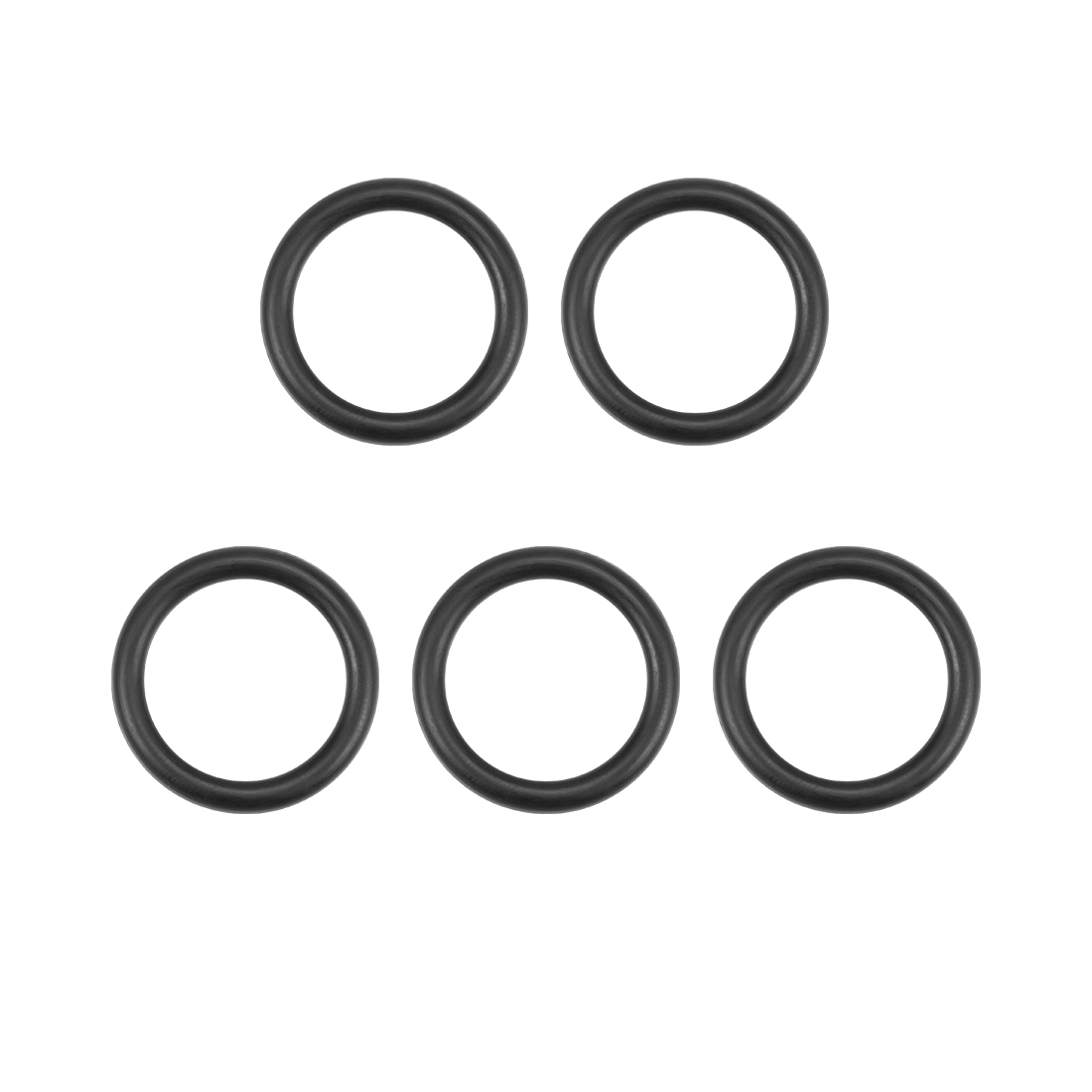 O-Rings Nitrile Rubber 14mm x 19.3mm x 2.65mm Round Seal Gasket 5 Pcs