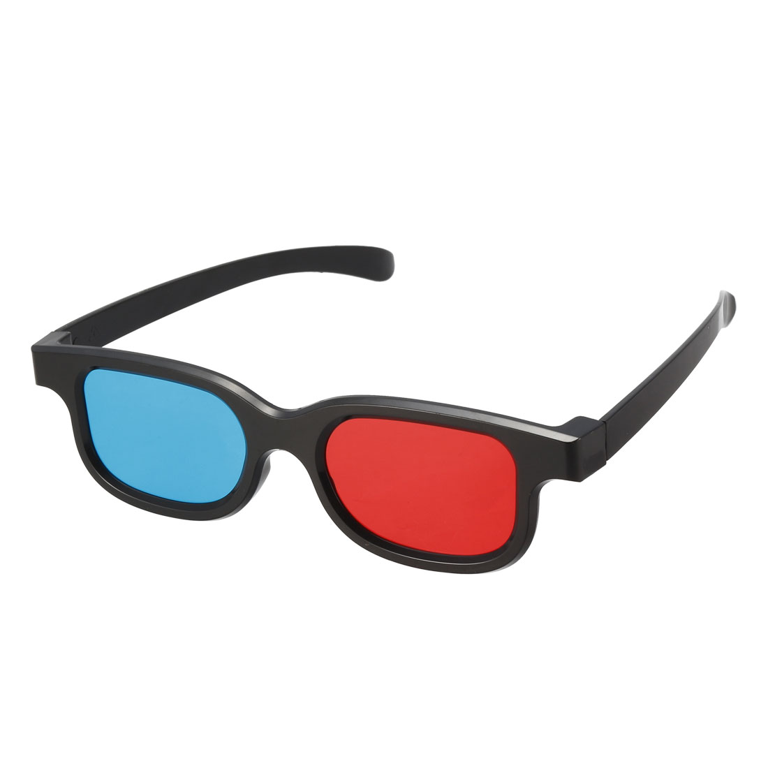 Red-Blue 3D Glasses 3D Visoin Glass for Red-Blue Format Movie/Picture 5pcs