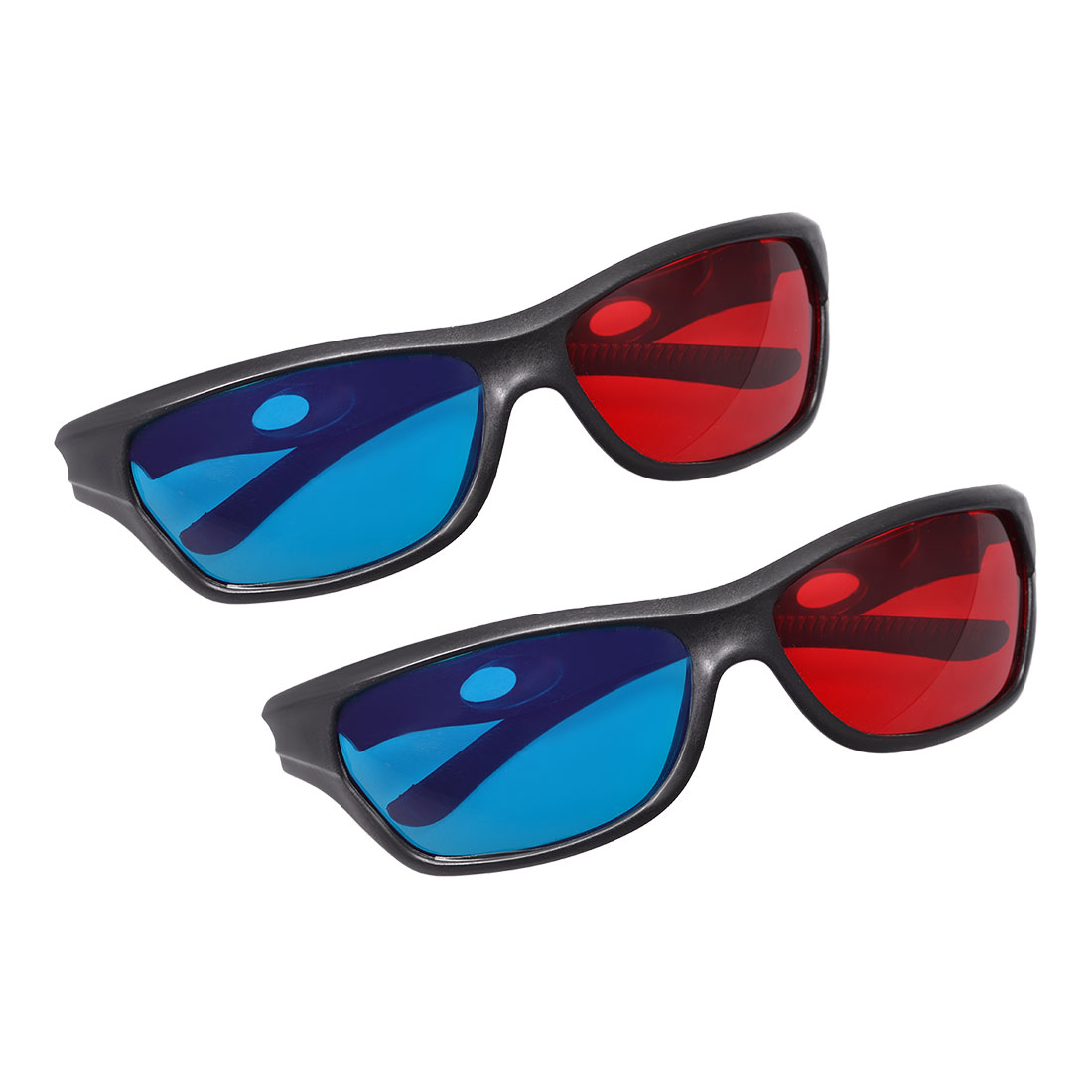 Red-Blue 3D Glasses 3D Visoin Glass for Movies 3D Print Anaglyph Photos 2pcs