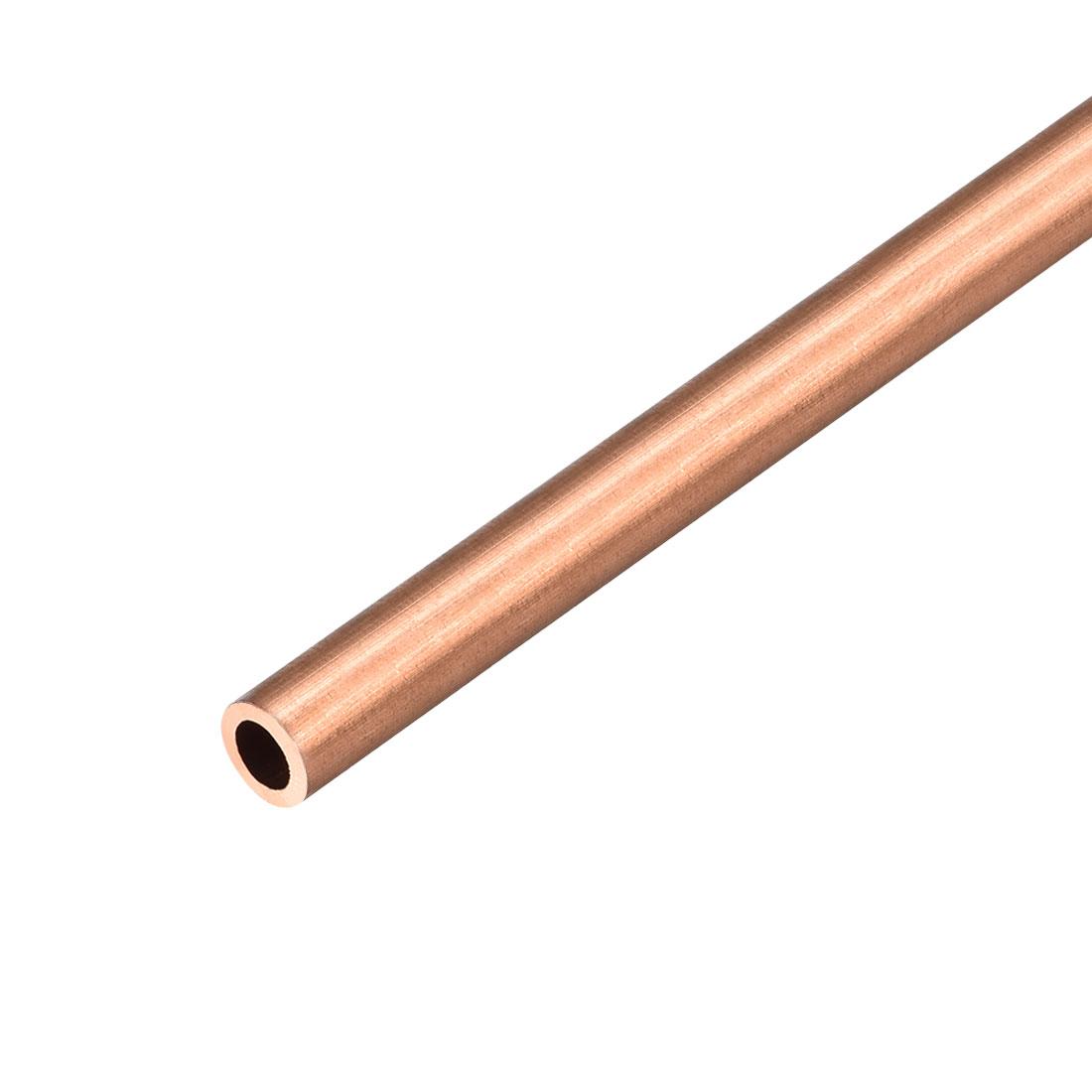 8mm Outside Diameter x 5mm Inside Diameter 500mm Copper Round Tube Pipe