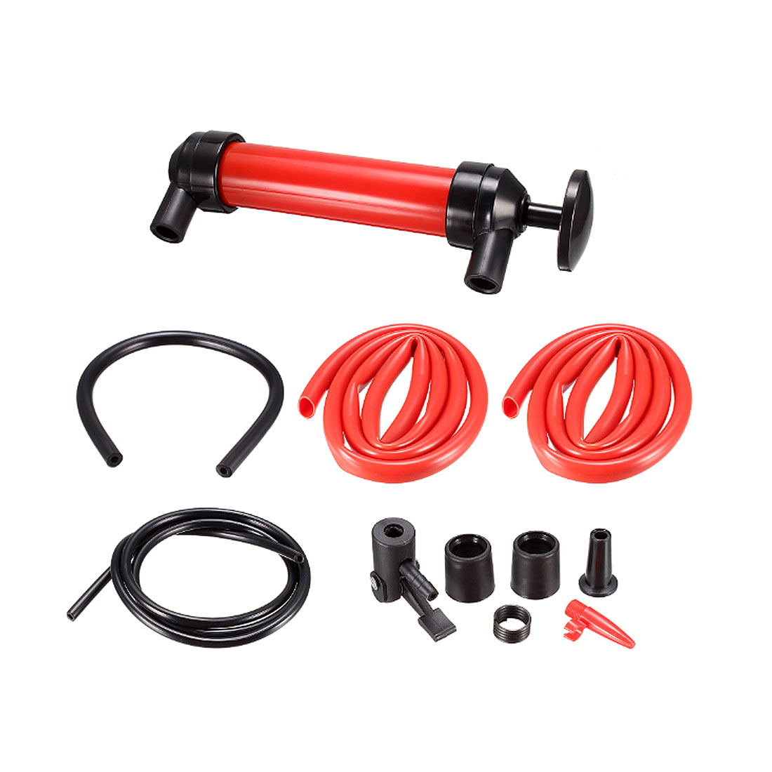 Multi-Use Siphon Fuel Transfer Pump Kit for Gas Oil and Liquids