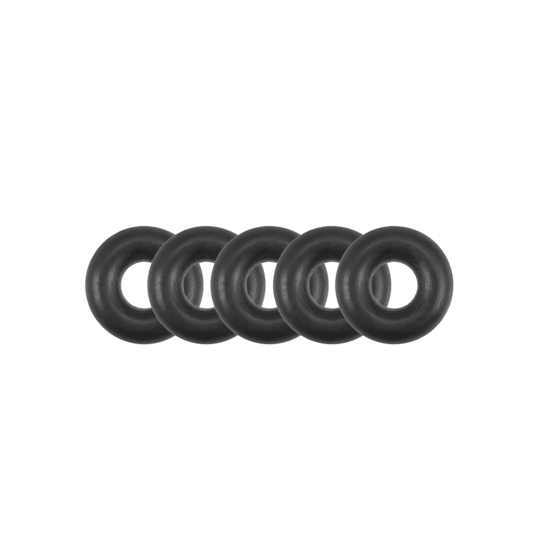 O-Rings Nitrile Rubber 2.24mm x 5.84mm x 1.8mm Round Seal Gasket 5 Pcs