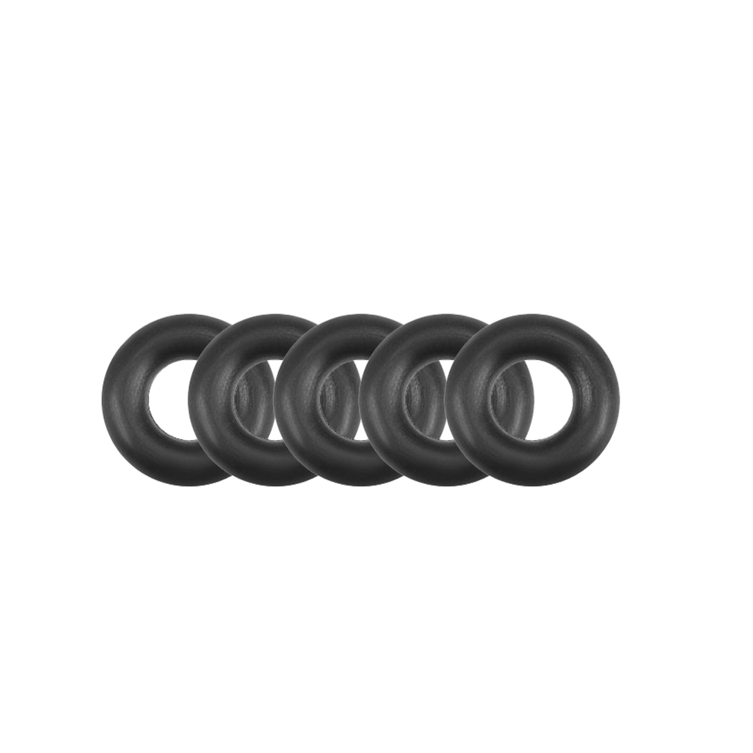 O-Rings Nitrile Rubber 2.8mm x 6.4mm x 1.8mm Round Seal Gasket 5 Pcs