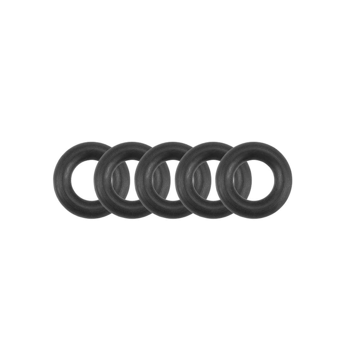 O-Rings Nitrile Rubber 3.55mm x 7.15mm x 1.8mm Round Seal Gasket 5 Pcs