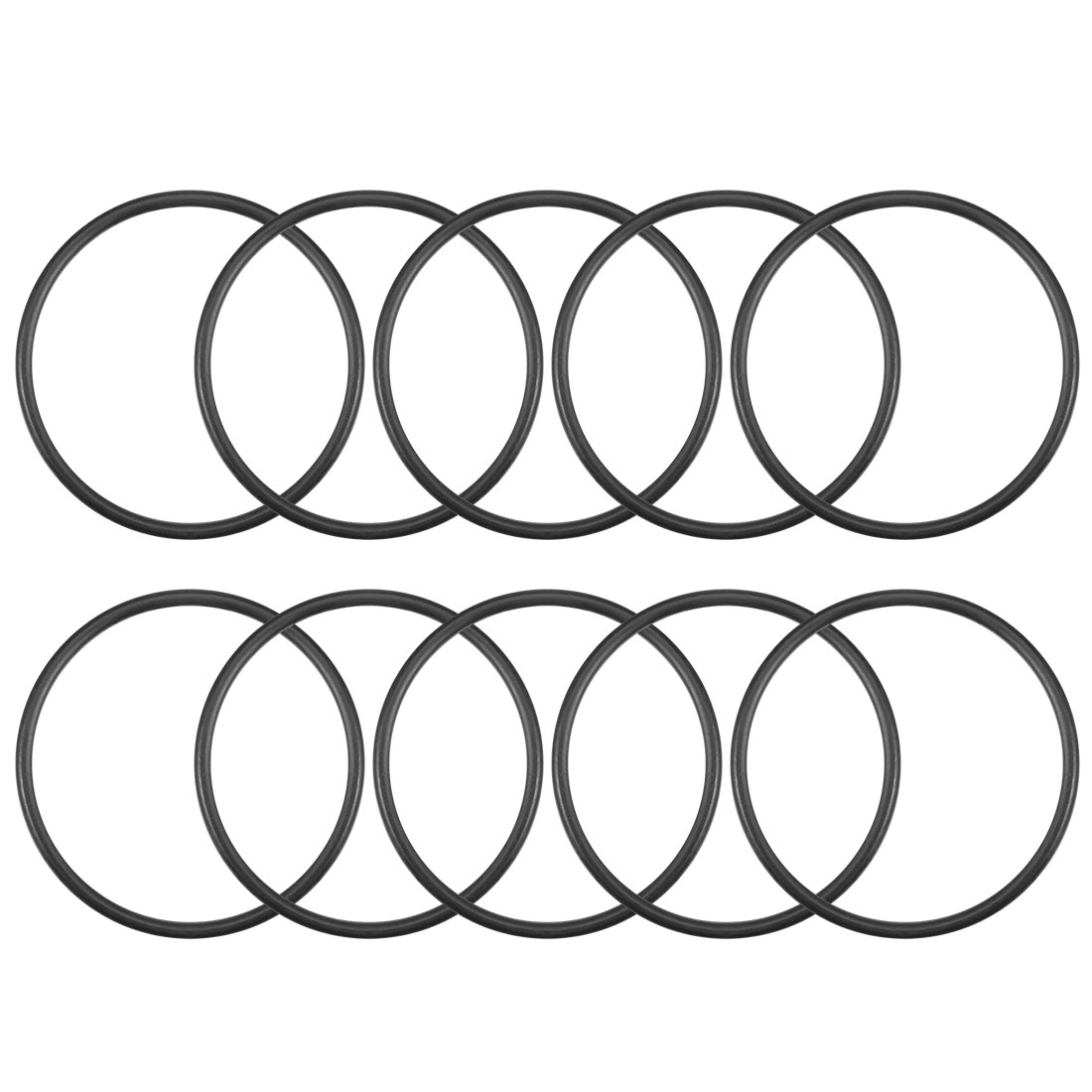O-Rings Nitrile Rubber 28mm x 31.6mm x 1.8mm Round Seal Gasket 10Pcs