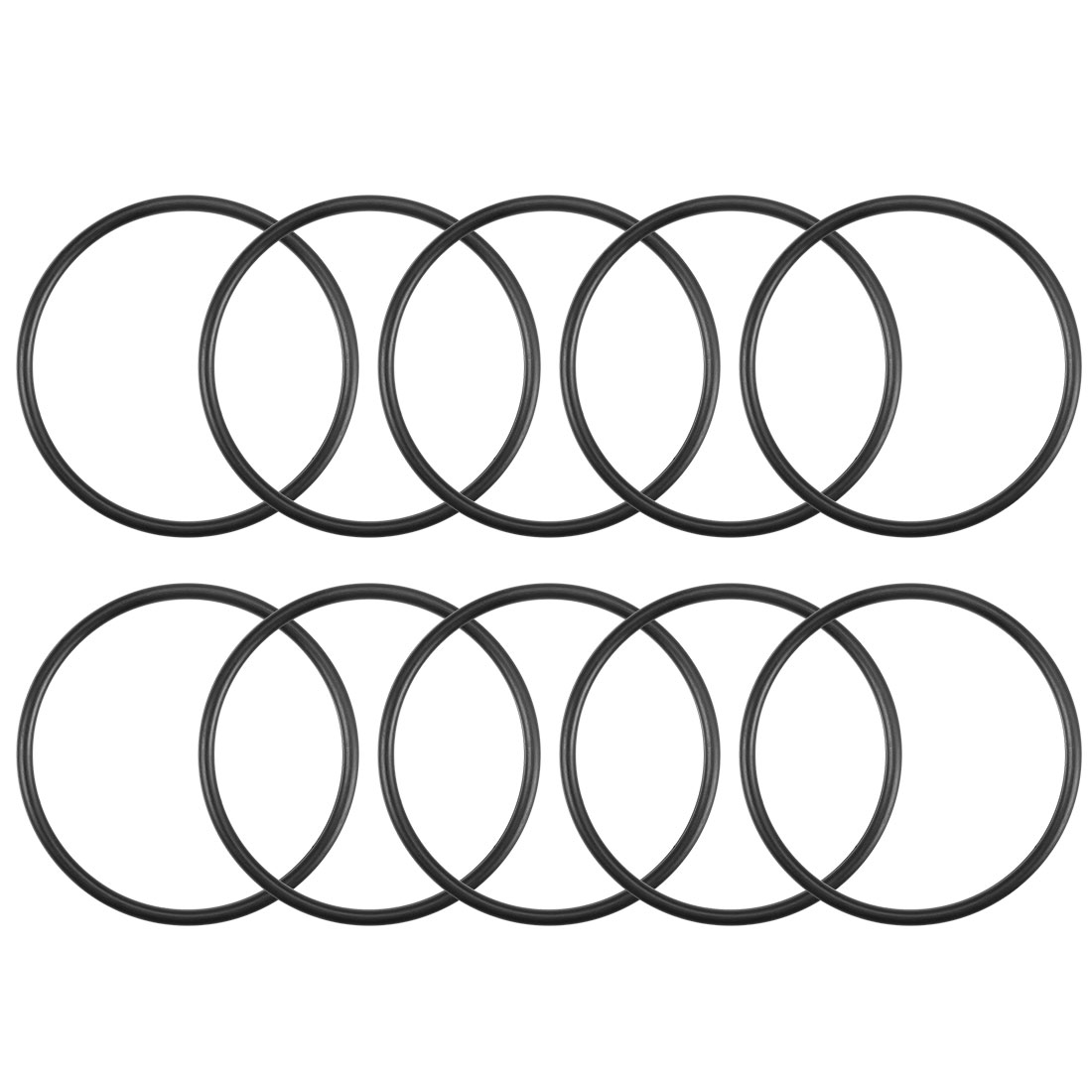 O-Rings Nitrile Rubber 32mm x 35.6mm x 1.8mm Round Seal Gasket 10Pcs
