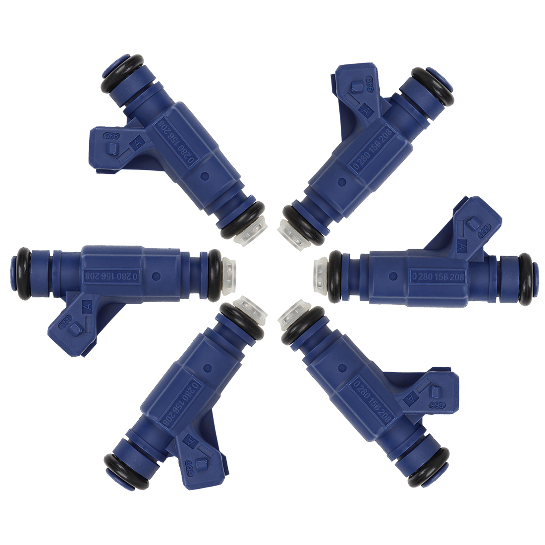 6pcs Fuel Injector for Polaris Sportsman 700 800 Ranger 700 800 RZR 800 EFI