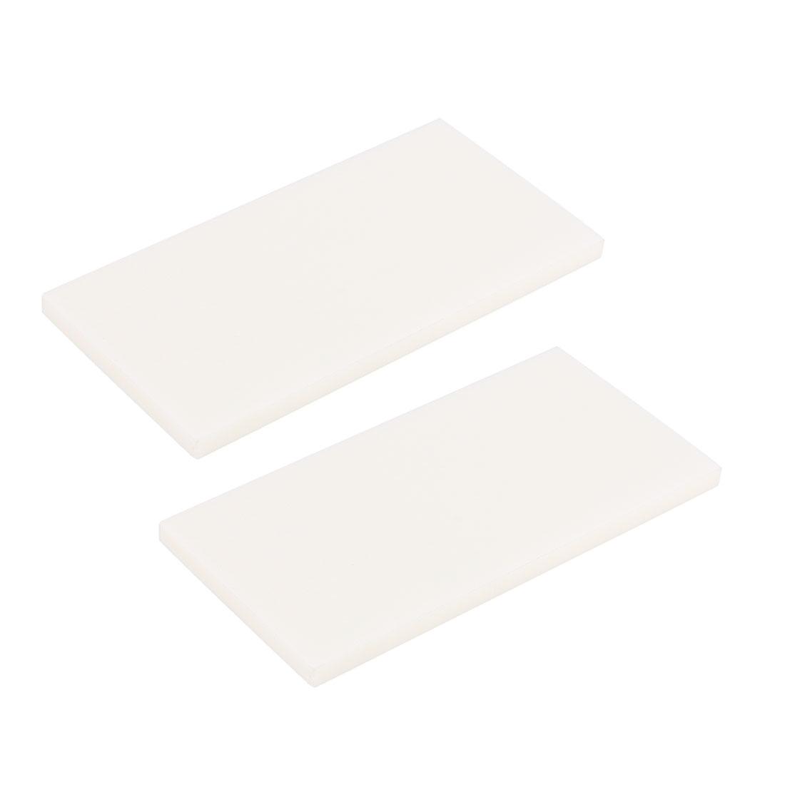2pcs Soldering Board Ceramic Insulation Board 2.5 x 1.3 x 0.15inch/62 x 33 x 4mm