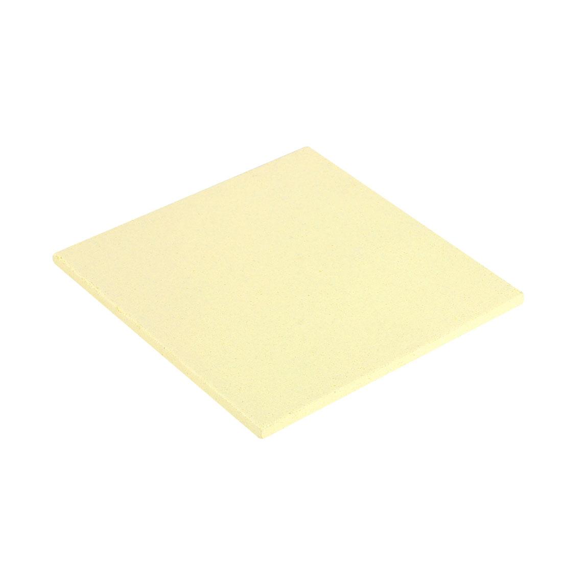 Soldering Board Ceramic Hard Insulation Board 2.8 x 2.8 x 0.1inch/70 x 70 x 3mm