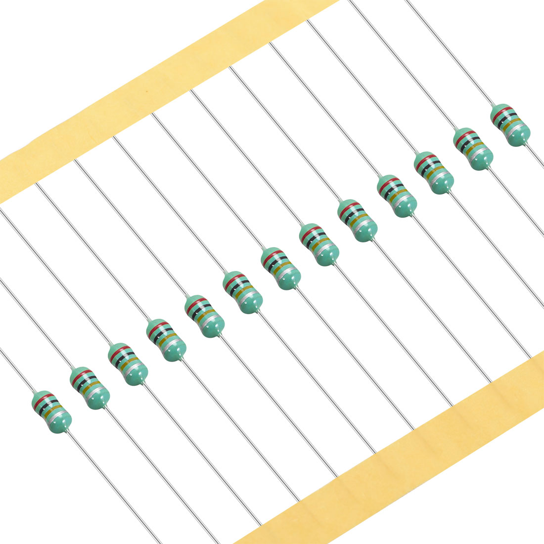 25Pcs 0307 Color Ring Inductor 1uH 0.5W Axial RF Choke Coil Inductor