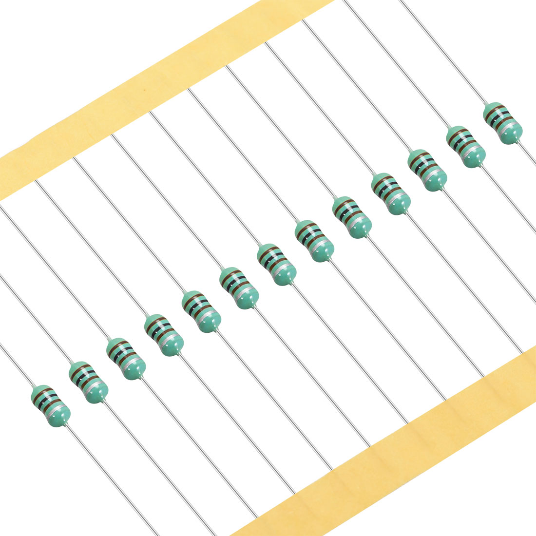 50Pcs 0307 Color Ring Inductor 100uH 0.5W Axial RF Choke Coil Inductor