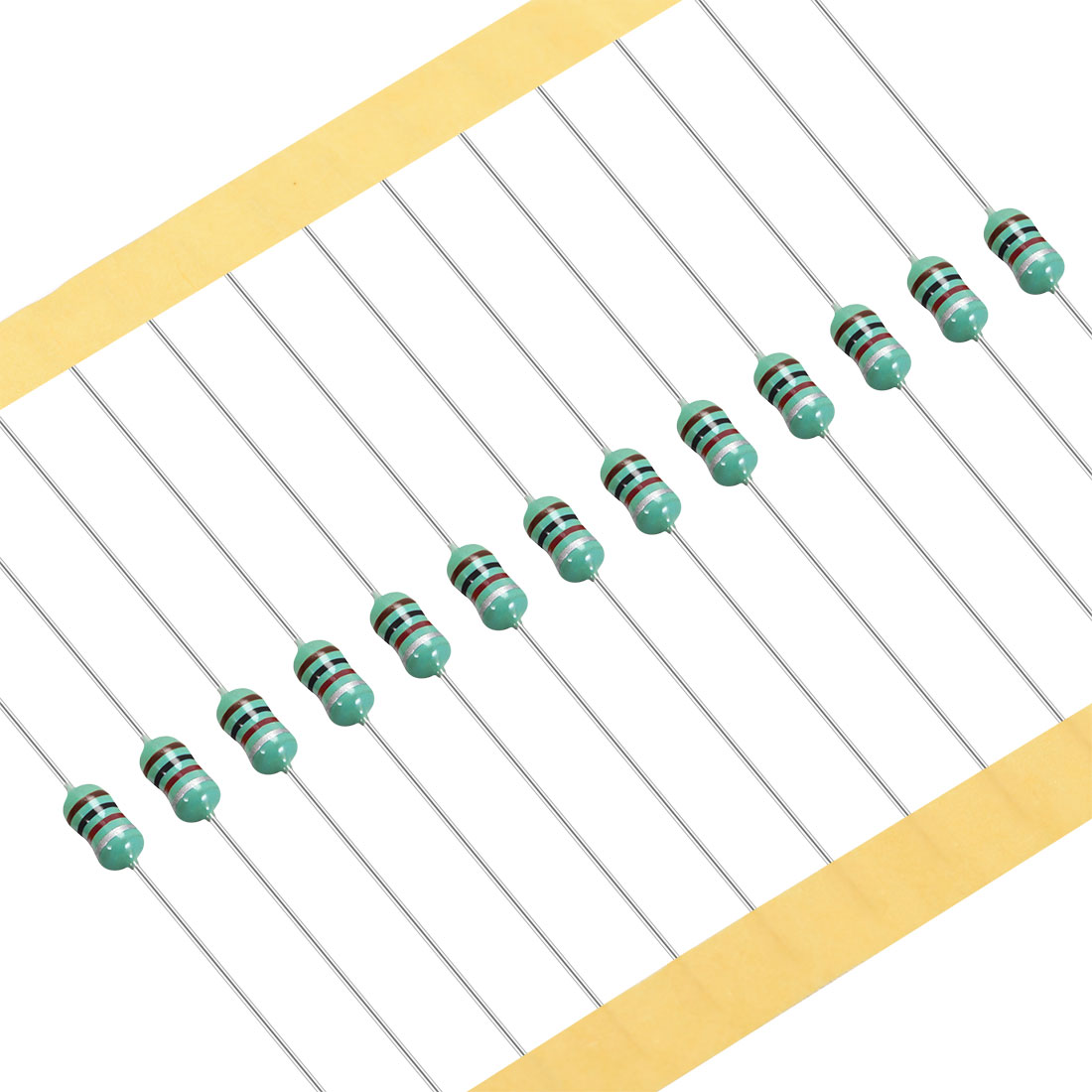 50Pcs 0307 Color Ring Inductor 1000uH 0.5W Axial RF Choke Coil Inductor