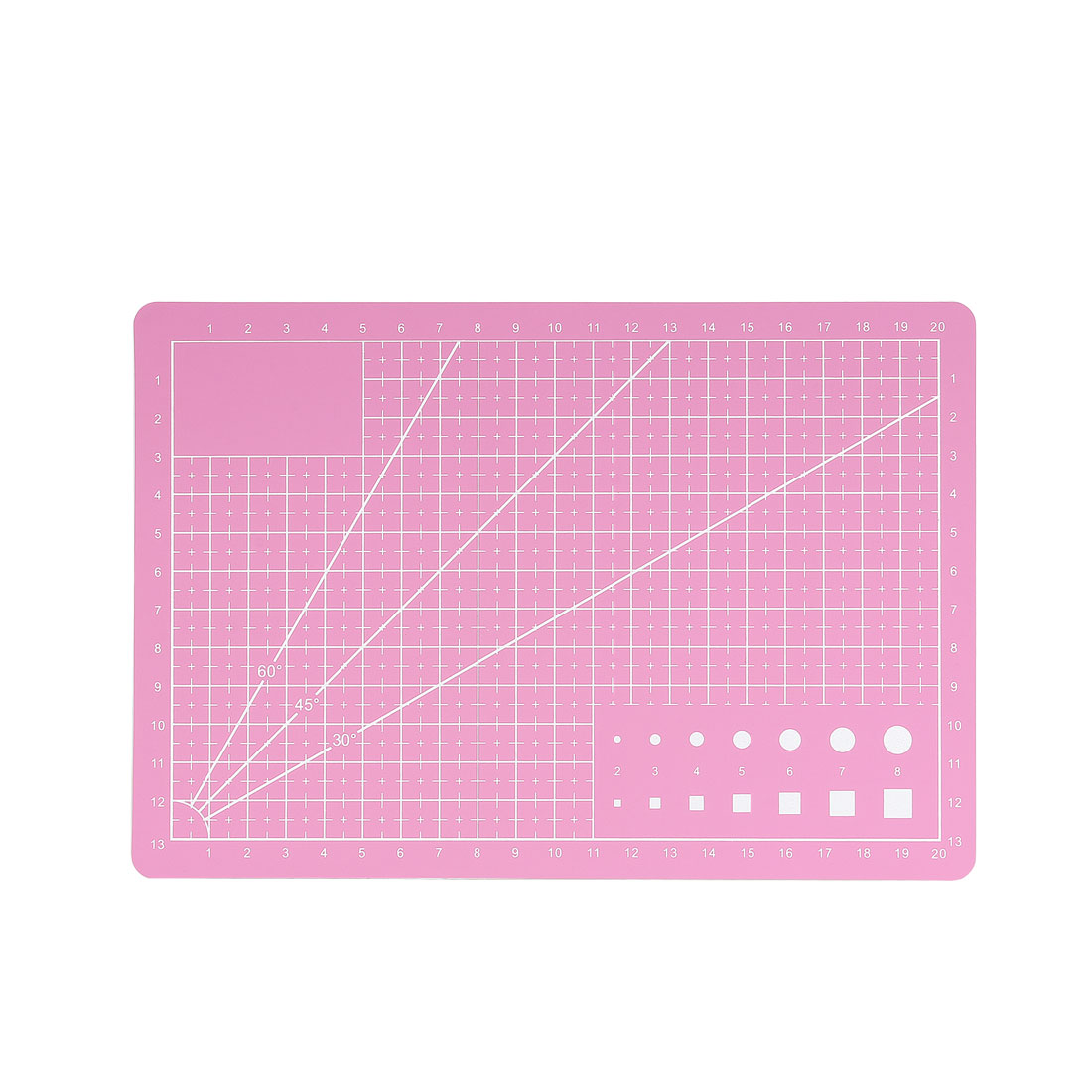 A5 Cutting Mat for Scrapbooking Quilting Sewing Pink