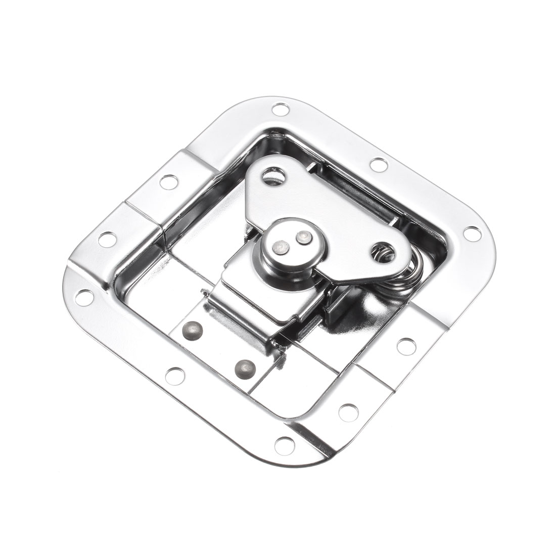 Butterfly Case Box Recessed Latch 4.06-inch x 4-Inch Spring Loaded