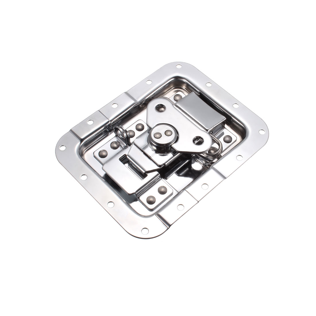 Butterfly Box Case Recessed Latch 6-1/4-Inch x 5-Inch Spring Loaded