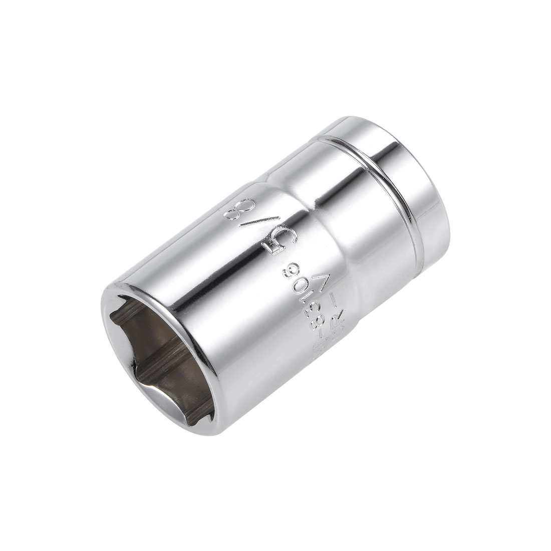 1/2-inch Drive 5/8-inch 6-Point Shallow Socket, Cr-V