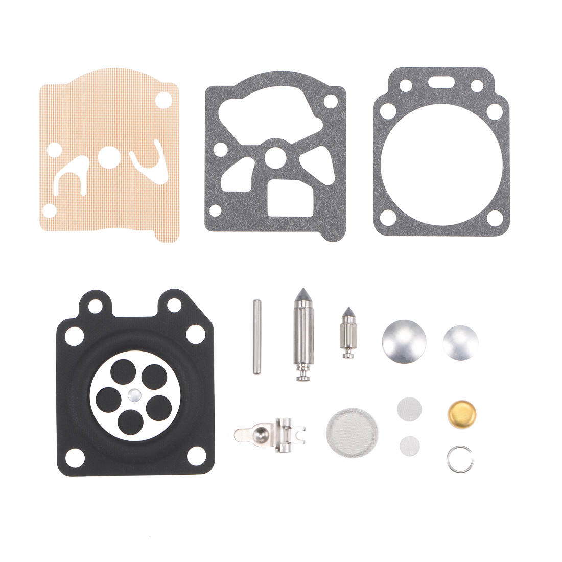 Carburetor Rebuild Kit Gasket Diaphragm K20-WTA for K20WAT K20 Carb 2pcs